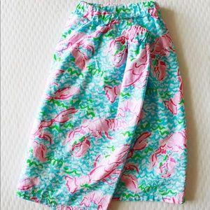 Lilly Pulitzer Lobstah Skirt  - sz M